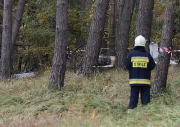 Dwie osoby zginęły w katastrofie helikoptera. Szukają świadków