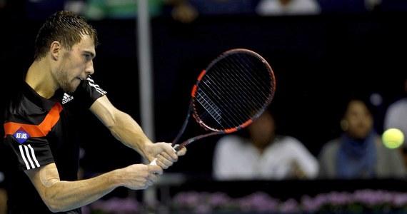 Kolumbijczyk Santiago Giraldo będzie rywalem Jerzego Janowicza w drugiej rundzie halowego turnieju tenisowego ATP Masters 1000 w Paryżu (pula nagród 3,2 mln euro). Polak, rozstawiony z numerem 14., w pierwszej rundzie ma tzw. wolny los.