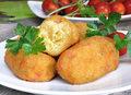 Krokiety ziemniaczano-serowe