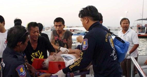 Dwoje Polaków zginęło w wypadku promu, który zatonął w pobliżu ośrodka wypoczynkowego Pattaya w Tajlandii - poinformował rzecznik MSZ Marcin Wojciechowski. Według lokalnej policji w niedzielnej katastrofie zginęło co najmniej 6 osób.