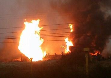 Pożar w Jankowie Przygodzkim. Wasze zdjęcia i filmy z Gorącej Linii RMF FM!