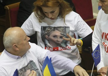 Tymoszenko zostaje w więzieniu, a Ukraina poza Unią
