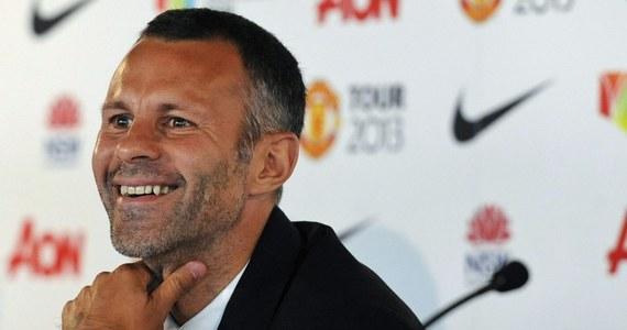 """Walijczyk Ryan Giggs, piłkarz oraz asystent trenera Manchesteru United, kończy 40 lat. Wychowanek """"Czerwonych Diabłów"""", który w angielskiej ekstraklasie zadebiutował w 1991 roku, wciąż potrafi grać na najwyższym poziomie."""