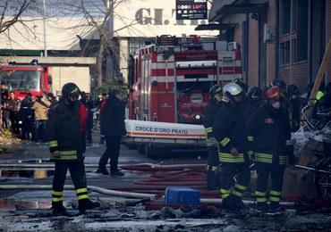 Tragiczny pożar fabryki ubrań w Toskanii