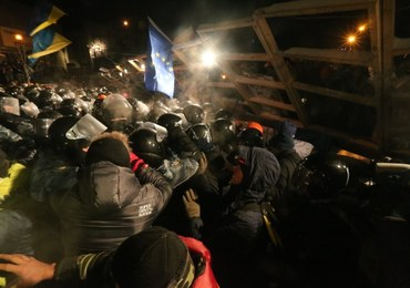 Ukraina: Milicja wkroczyła na Majdan Niepodległości