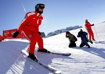 Michael Schumacher miał wypadek na nartach