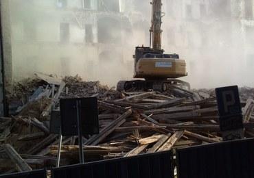 Pył, gruz i hałas w centrum Katowic