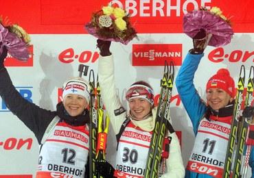 PŚ w biathlonie: Nowakowska-Ziemniak ósma, triumf Domraczewej