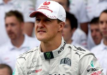 Michael Schumacher miał kamerę na kasku