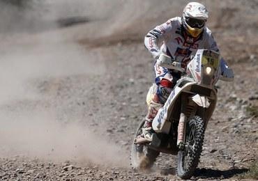 Rajd Dakar: Przygoński trzecim motocyklistą na piątym etapie