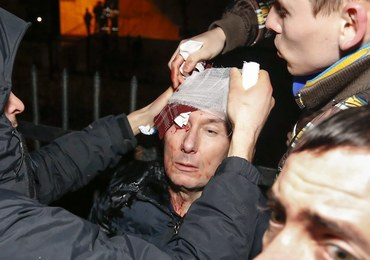 Ukraina: Opublikowano nagranie, na którym milicja bije byłego ministra