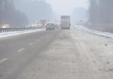 Sypnęło śniegiem. Tym razem na południu Polski