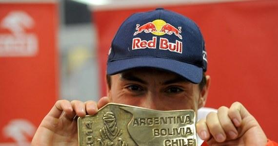Jakub Przygoński (Orlen Team), który w Rajdzie Dakar 2014 zajął szóste miejsce w rywalizacji motocyklistów, powiedział po przylocie do Warszawy, że jego celem jest podium tej imprezy. Póki co marzy o snowboardowej desce.