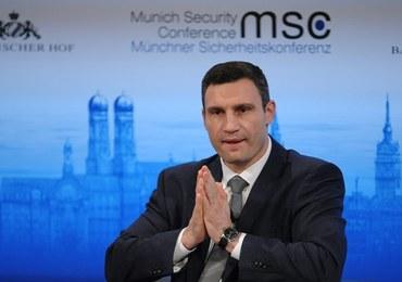 Kliczko żąda sankcji dla ukraińskiego rządu