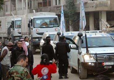 Syria: Kilkuset cywilów ewakuowanych