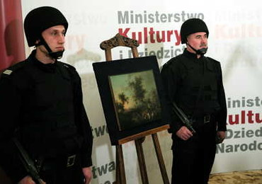 Odzyskany cenny obraz wraca do Muzeum Narodowego