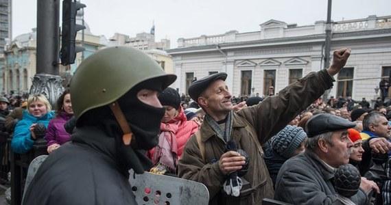 """Szefowa dyplomacji Unii Europejskiej Catherine Ashton zaapelowała do ukraińskich polityków o """"odpowiedzialne działania"""", mające na celu utrzymanie integralności terytorialnej i jedności kraju."""