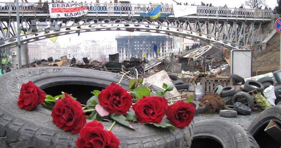 Ukraina będzie budować stosunki z Rosją na zasadach dobrosąsiedzkich - oświadczył wieczorem p.o. prezydenta Ołeksandr Turczynow. Zapowiedział, że Ukraina powróci na drogę europejskiej integracji. Ostrzegł też, że kraj jest na skraju niewypłacalności.