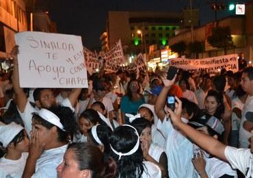 Mieszkańcy Culiacan domagają się uwolnienia narkotykowego bossa