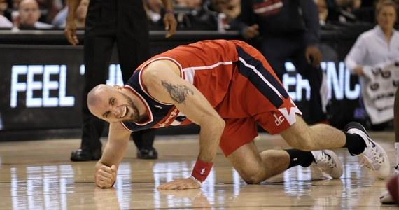 Zespół Washington Wizards coraz śmielej walczy o miejsce gwarantujące grę w play-off. W nocy drużyna Marcina Gortata wygrała szósty z rzędu mecz w NBA. Tym razem z Philadelphią 76'ers 122:103. Marcin Gortat zanotował double-double.