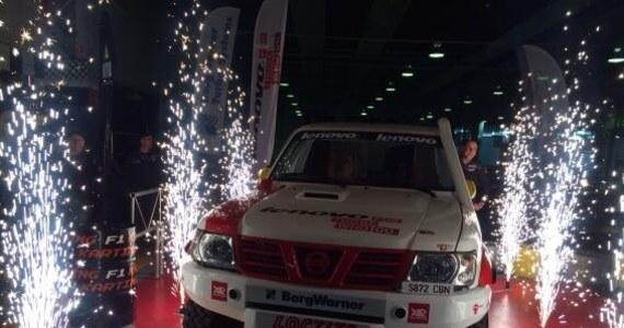 Na torze F1Karting w Warszawie zaprezentowano najnowszy samochód rajdowy klasy TH zespołu RMF 4RACING Team. Zawodnicy z pomocą najnowszej rajdówki chcą zdobyć m.in. podium Rajdowych Mistrzostw Polski Samochodów Terenowych.