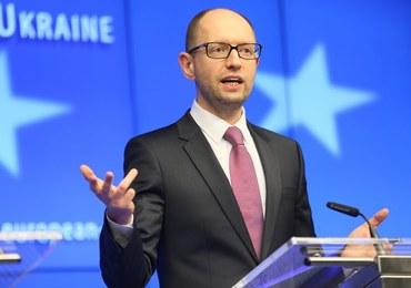 Arsenij Jaceniuk chce decentralizacji regionów