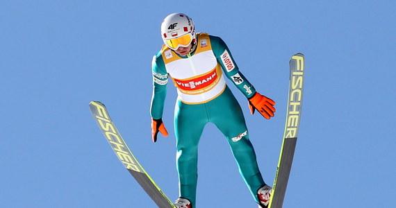 Kamil Stoch uzyskał 131,5 metra i był drugi w serii próbnej przed konkursem Pucharu Świata w skokach narciarskich w Planicy. Pierwszy był Słoweniec Peter Prevc - 131 metrów, a trzeci Niemiec Severin Freund, który skoczył o sześć metrów bliżej.