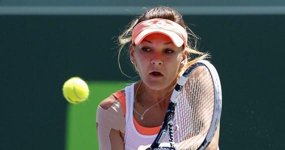 Agnieszka Radwańska przegrała z Dominiką Cibulkovą w ćwierćfinale tenisowego turnieju WTA Tour na twardych kortach w Miami. Mecz trwał 2 godziny i 41 minut. Tym samym nie udało się jej zrewanżować za porażkę w Australian Open. W styczniu Słowaczka wygrała z Polką w półfinale tej wielkoszlemowej imprezy.