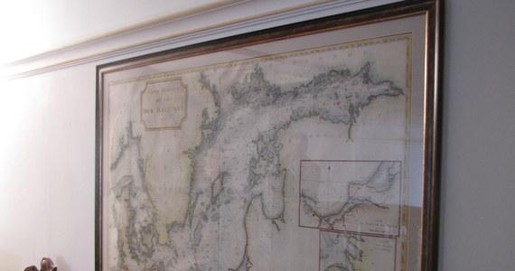 Mapę Morza Bałtyckiego z 1785 roku można oglądać od dziś w Domu Uphagena w Gdańsku. Temu oddziałowi Muzeum Historycznego Miasta Gdańska w depozyt przekazali ją państwo Heinsohn - polsko-niemieckie małżeństwo.