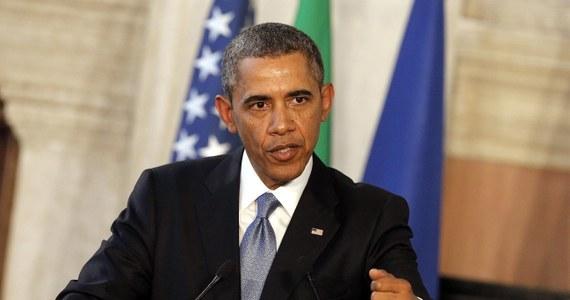 """Prezydent USA Barack Obama wskazał Ukrainie Polskę jako wzór sukcesu reform gospodarczych, które - mówił - przyniosły wręcz """"niewiarygodny"""" wzrost. Na konferencji prasowej w Rzymie wyraził nadzieję, że w sprawie Krymu Rosja wróci na drogę dyplomacji."""