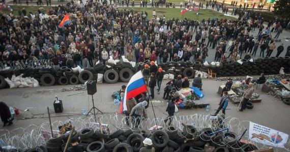 Sytuacja we wschodnich obwodach Ukrainy, gdzie prorosyjscy separatyści okupują budynki administracji państwowej, zostanie rozwiązana w ciągu najbliższych 48 godzin - oświadczył szef ukraińskiego MSW Arsen Awakow.