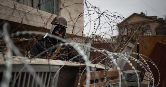 Uzbrojeni mężczyźni przejęli kontrolę nad komisariatem milicji w Sławiańsku w obwodzie donieckim na wschodzie kraju - poinformował minister spraw wewnętrznych Ukrainy Arsen Awakow.