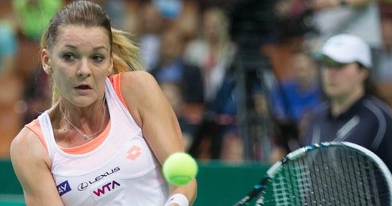 """Agnieszka Radwańska podkreśliła, że miała wiele okazji, by rozstrzygnąć półfinał turnieju WTA Tour w Katowicach z Alize Cornet na swoją korzyść. """"Nie wykorzystałam swoich szans"""" - przyznała 25-letnia tenisistka po porażce z Francuzką."""