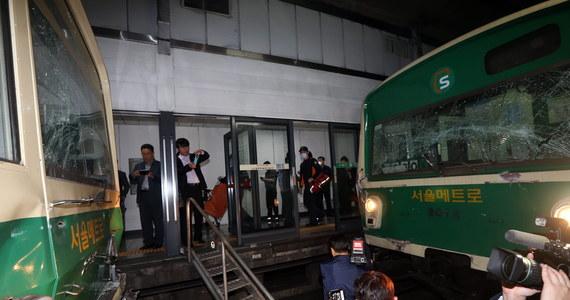 W stolicy Korei Południowej, Seulu zderzyły się dwa pociągi metra. Rannych zostało ok. 170 pasażerów.