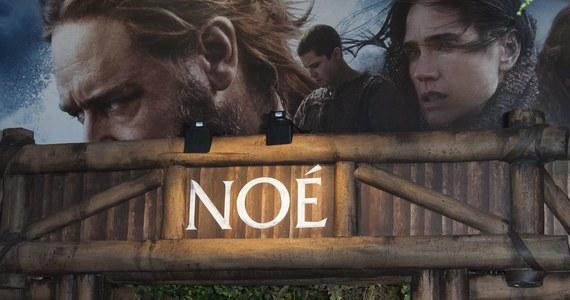 """Władze Chin zabroniły wyświetlania w kinach filmu """"Noe: Wybrany przez Boga"""". Ta biblijna epopeja z Russellem Crowe'em w roli głównej została zakazana też w kilku innych krajach - głównie muzułmańskich - z powodów religijnych."""