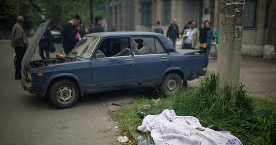Starcia i strzały w Mariupolu na wschodzie Ukrainy. Separatyści zaatakowali komendę milicji i bazę Gwardii Narodowej. Jak donoszą ukraińskie władze, jest wiele ofiar.