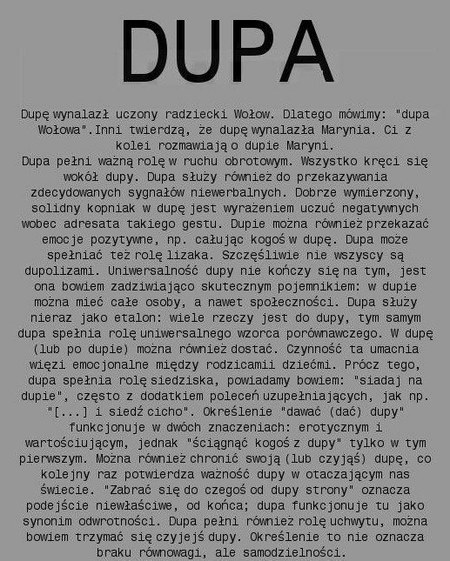 Quotoda Do Dupyquot Ah Fredro Forum Mobilna Interiapl