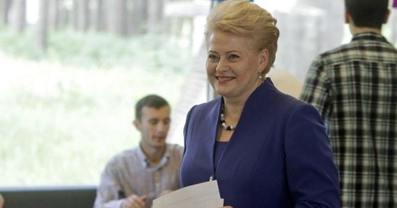 Dotychczasowa prezydent Dalia Grybauskaite zwyciężyła w drugiej turze wyborów prezydenckich na Litwie. To oficjalne wyniki głosowania.