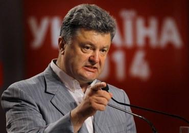 Poroszenko: Stan wojny we wschodniej Ukrainie