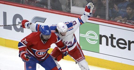 Hokeiści Montreal Canadiens pokonali New York Rangers 7:4 w piątym meczu finałowym Konferencji Wschodniej ligi NHL. Bliżej awansu do decydującego etapu walki o Puchar Stanleya są jednak Rangers, którzy wciąż prowadzą w rywalizacji play off do czterech zwycięstw - w tej chwili 3-2.