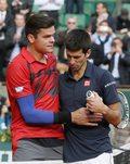 Novak Djoković i Ernests Gulbis w półfinale turnieju Rolanda Garrosa