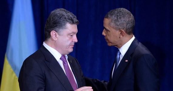 Ukraińcy dokonali mądrego wyboru, powierzając Petrowi Poroszence kierowanie krajem - podkreślił prezydent USA Barack Obama po spotkaniu w Warszawie z ukraińskim prezydentem elektem. Było to pierwsze spotkanie tych przywódców.