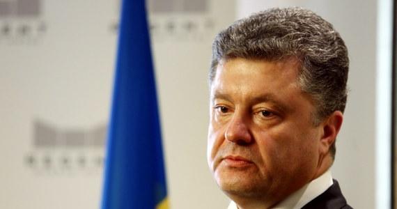 """Decentralizacja na Ukrainie zostanie zbudowana na bazie polskiego modelu - powiedział w Warszawie prezydent elekt Petro Poroszenko. Zapowiedział, że jest planowana """"szeroko zakrojona amnestia"""" na Ukrainie oraz inne kroki, które zagwarantują sukces procesu pokojowego."""