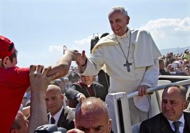 Wzruszające spotkanie Franciszka z ojcem zabitego chłopca