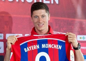 """Robert Lewandowski w Bayernie z """"9"""""""