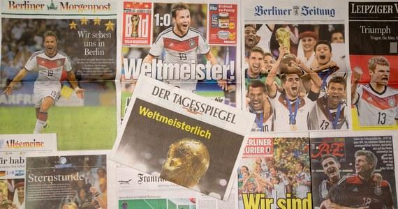 """""""Niemcy są dobrze przygotowani, aby zastąpić Hiszpanów na długie lata na mistrzowskim tronie  światowego futbolu"""" - ocenia brytyjski """"The Times"""" po wygraniu przez podopiecznych Joachima Loewa finałowego meczu piłkarskiego mundialu w Brazylii z Argentyną 1:0."""
