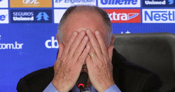 Luiz Felipe Scolari zrezygnował z funkcji trenera Brazylii - potwierdził prezes tamtejszej federacji piłkarskiej Jose Maria Marin. O decyzji szkoleniowca, na którą wpływ miał fatalny wynik podczas mistrzostw świata, informowały już wcześniej media. Teraz jest to już oficjalna wiadomość.