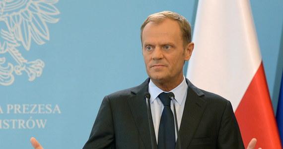 """""""Zestrzelenie samolotu pasażerskiego na terenie Ukrainy jest aktem terroru"""" - oświadczył premier Donald Tusk. Zapewnił, że to zdarzenie nie powoduje bezpośredniego zagrożenia dla bezpieczeństwa Polski. Jak ocenił, potrzebna jest presja na separatystów i Rosję."""