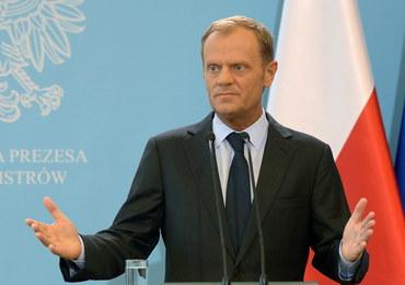 Tusk: Zestrzelenie samolotu - akt terroru. Potrzebna presja na Rosję