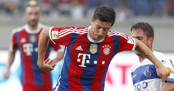 Robert Lewandowski zdobył swojego pierwszego gola dla Bayernu Monachium. Reprezentant Polski wpisał się na listę strzelców w debiucie w barwach mistrzów Niemiec. Bawarczycy zremisowali w meczu sparingowym z MSV Duisburg 1:1.